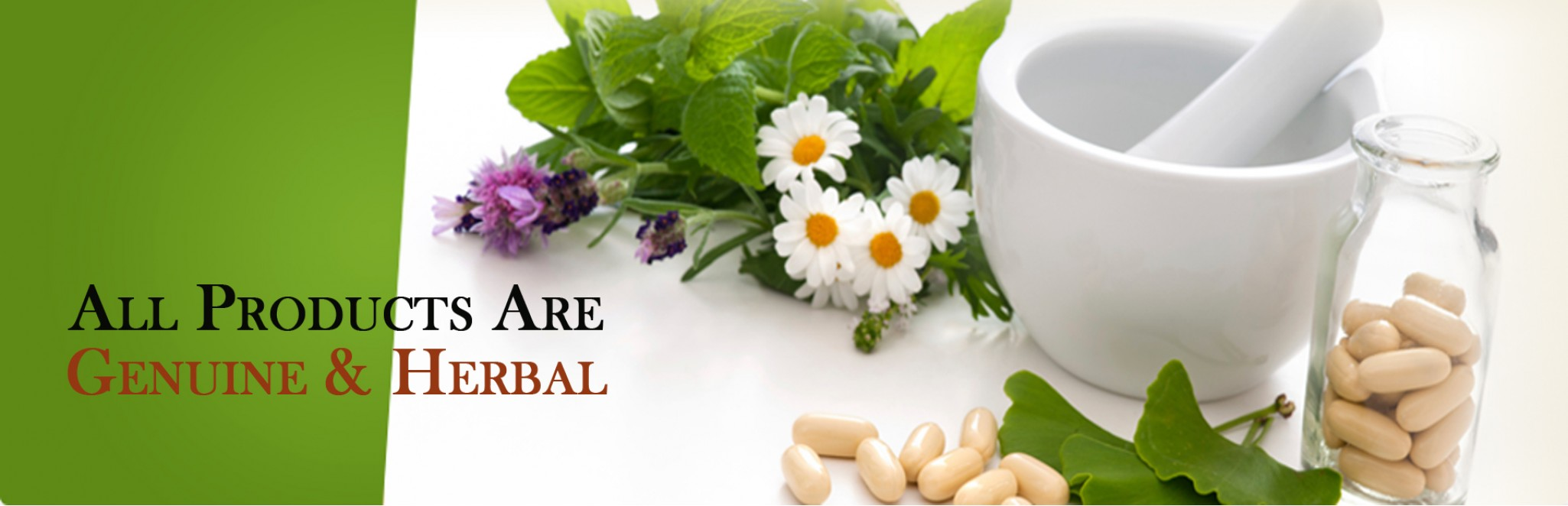 All Products are Genuine & Herbal